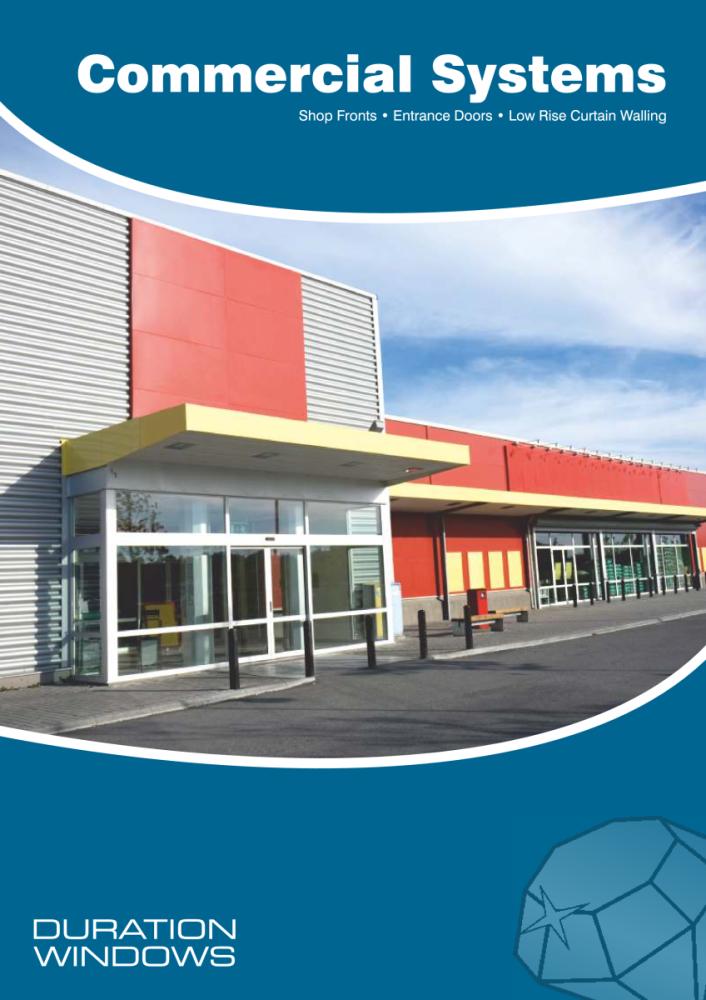 Duration Windows Commercial Systems  sc 1 st  Craig Hancock Services & COMMERCIAL ALUMINIUM DOORS | Craig Hancock Services | Double Glazing ...