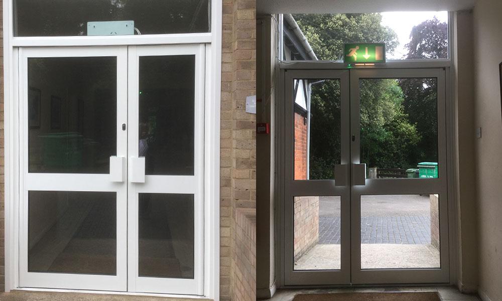 COMMERCIAL ALUMINIUM DOORS & COMMERCIAL ALUMINIUM DOORS | Craig Hancock Services | Double Glazing ...